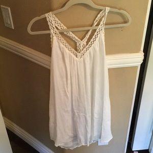 Lush crochet dress